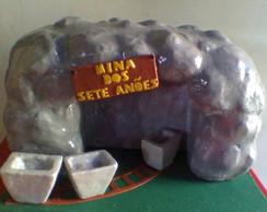 Mina dos Sete An�es (escultura)