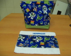 Bolsa + toalhinha Toy Story