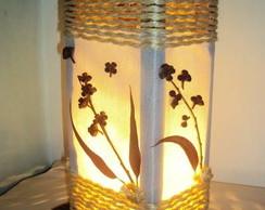 abajur lumin�ria r�stico sala quarto
