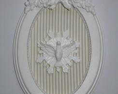 Quadro Oval Esp�rito Santo no Resplendor