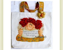 "Apostila Patchwork ""Eco Bag Angel Girl"