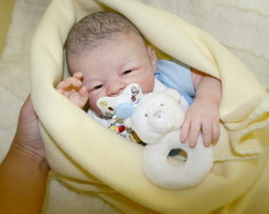 Baby Boy reborn Miles-por encomenda !!!