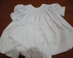 Vestidinho para Batizado - Modelo 2