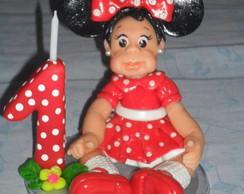 menina minnie vermelha/with dress minnie