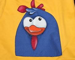 Blusa de Moleton - Galinha Pintadinha