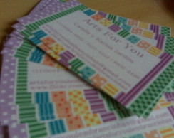 Kit 20 Calling Cards + 20 Envelopes