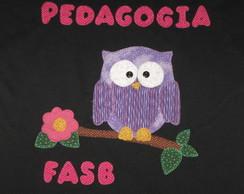 Camiseta Formatura Pedagogia