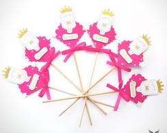 Palito Decorativo Princesa