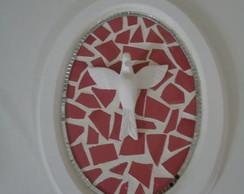 Quadro de divino oval