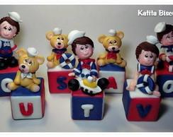 Cubos Biscuit Marinheiro Menino