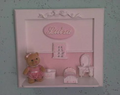 Porta Maternidade Ursa com Resinas
