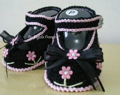 Sapatilha Flowers Baby EXCLUSIVO