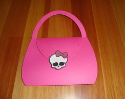 Convite Bolsa Monster High