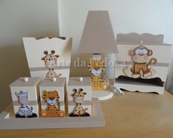 Kit de Beb� - Safari Bege