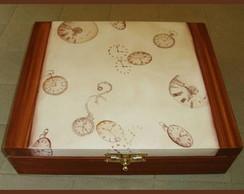 Caixa de rel�gios com 10 nichos