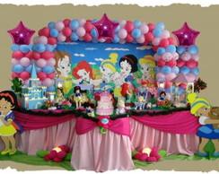 Decora��o de Festa Princesas Baby