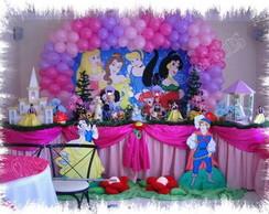 Decora��o de festa infantil Princesas