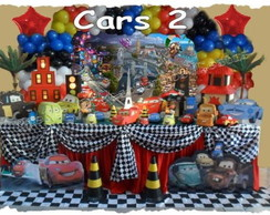 Decora��o de Festa  Carros Disney 2