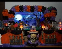 Decora��o de Festa Halloween - terror