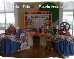 Decora��o de Festa Patati Patat� clean 1