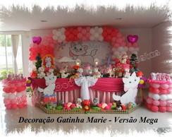 Decora��o de Festa Gatinha Marie