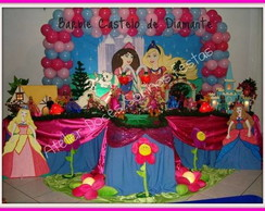 Decora��o barbie castelo de diamantes