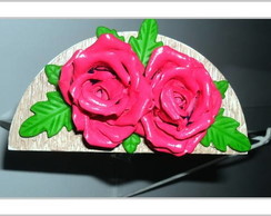 Porta guardanapo flor - pronta entrega