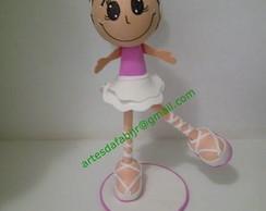boneca bailarina em 3d