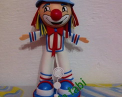 Bonecos e bonecas 3d em tema de festa
