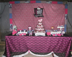 Monster High Decora��o de Festa