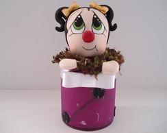 Lata decorativa Joaninha