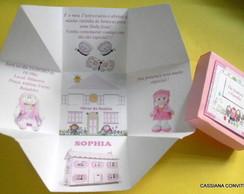 Convite Casinha de Bonecas