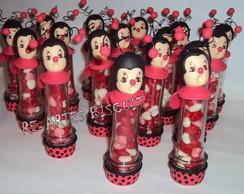Lembrancinha Mini - Tubete Joaninha