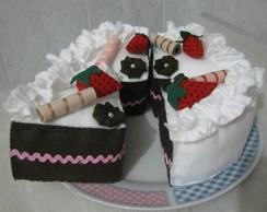 Torta em feltro