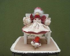 galinha m�dia, cadeira vendida separada.