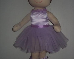 Boneca de pano bailarina Lil�s