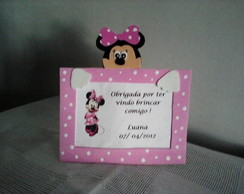 Porta Retrato da Minnie Rosa