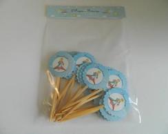 Pequeno Pr�ncipe - Tags para cupcakes