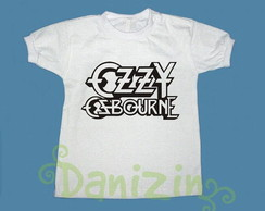 T-Shirt Beb� e Infantil OZZY OSBOURNE
