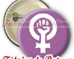 BOTON 2,5cm MOVIMENTO FEMINISTA