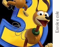 R�tulo para Bisnaga Toy Story
