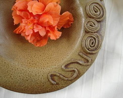 Prato de Ceramica