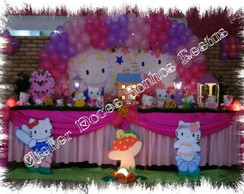 Decora��o de festa  tema hello kitty