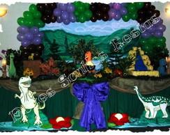 Decora��o de Festa Tema Dinossauros