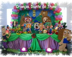 Decora��o crian�as diante do trono