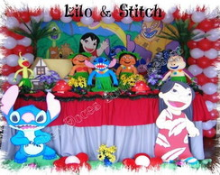 Decora��o de festa tema Lillo Stitch