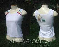 Camiseta Regata Reggae Classic BRANCA