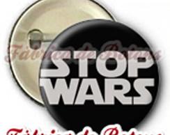 BOTON 2,5cm STOP WARS
