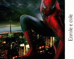 R�tulo para Bisnaga Spiderman
