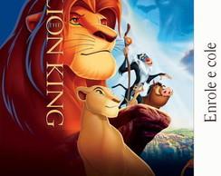 R�tulo para Bisnaga O Rei Le�o